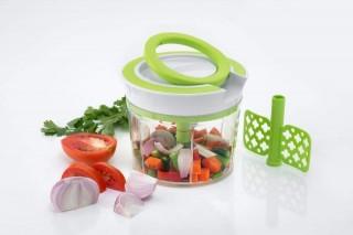 Battlane Handy Quick Vegetable Fruit Nut Onion Chopper (2 in 1) - 750 ml