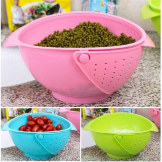 Battlane Multi-Function Bowl | Rice Fruits Vegetable Noodles Washing & Storing Bowl