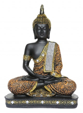 Battlane Meditating Sitting Lord Buddha Statue