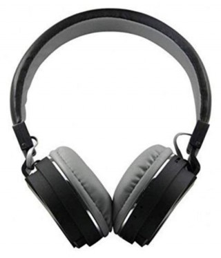 Battlane SH-12 Over Ear Wireless With Mic Headphones