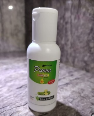 Herbal Hand Sanitizer with Lemon - Germ Protection (Pack of 1)