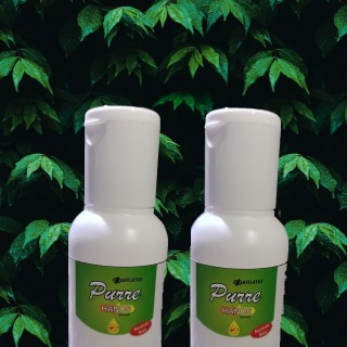 Herbal Hand Sanitizer with Lemon - Germ Protection (Pack of 2)